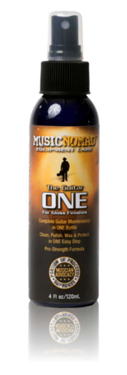 MUSICNOMAD The Guitar ONE - All in 1 Cleaner, Polish, Wax for Gloss Finishes