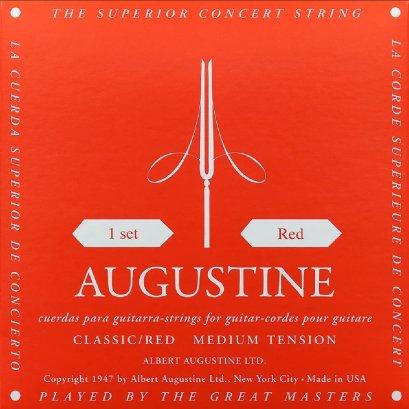 Augustine Nylon Strings Classic / Red, Medium Tension