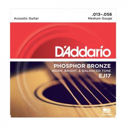 D'Addario EJ17 Phosphor Bronze Acoustic Light 13-56