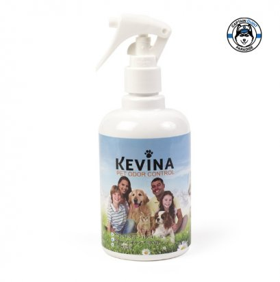 KEVINA : สเปรย์ดับกลิ่นไม่พึงประสงค์ และฆ่าเชื้อของสัตว์เลี้ยง ขนาด 300 ml. Pet Odor Control