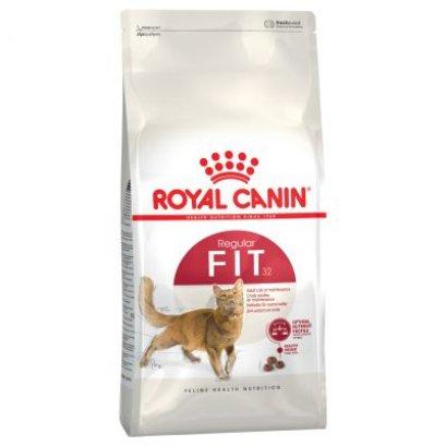 Royal Canin Fit 32 อาหารแมวแบบเม็ด สำหรับแมวโตรูปร่างดี อายุ 1 ปีขึ้นไป