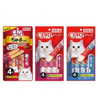 CIAO Stick เชาขนมครีมแมวเลีย รูปแบบแท่ง