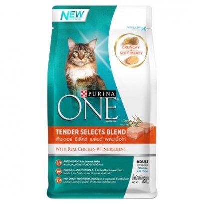 อาหารแมว PURINA ONE Tender Selects Blend Chicken