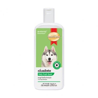 สมาร์ทฮาร์ท แชมพูกำจัดเห็บสำหรับสุนัข กลิ่นเดลีเฟรช / SmartHeart Tick Dog Shampoo Daily Fresh Scent