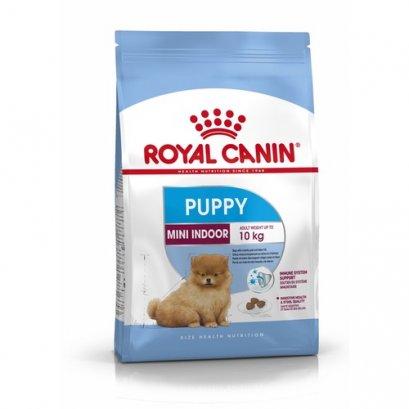Royal Canin Mini Indoor Puppy อาหารลูกสุนัข ขนาดเล็ก