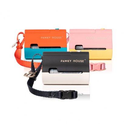 Pawky House - Dark Night กล่องใส่ถุงเก็บมูลสัตว์ พร้อมไฟฉาย