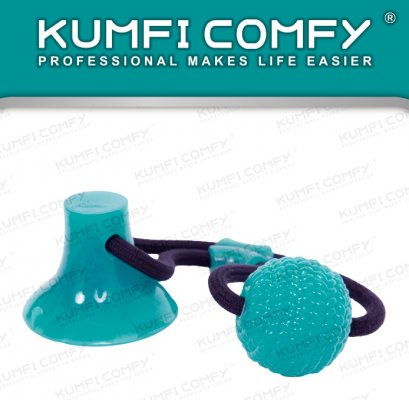 Kumfi Comfy : Chew Suction Ball with Rope