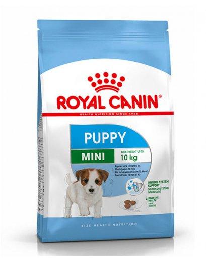 Royal Canin MINI PUPPY อาหารลูกสุนัขพันธุ์เล็ก 2-10 เดือน แบบเม็ด