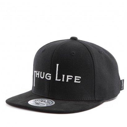 FL428 THUG Simple Snapback Black