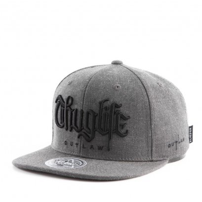 FL431 THUG Big Logo Charcoal