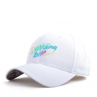 FL494 CC sparkling ballcap white