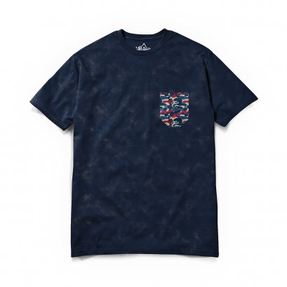 FTS0011 TL ACID WASH NAVY