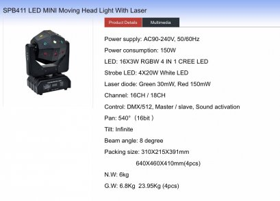 Moving BALL LASER