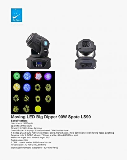 MOVING LED 90w LS90