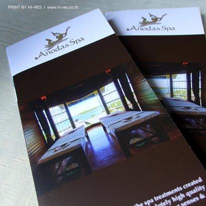 Brochure 2 พับ 3 ตอน