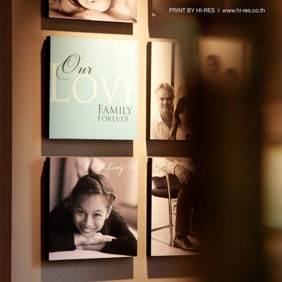 Poster on Wood Frame