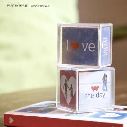 Mini Photo Cube