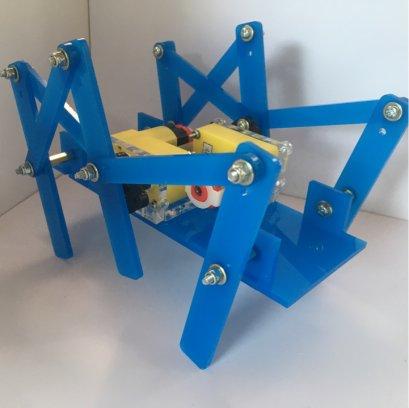 ชุดประกอบสำเร็จ หุ่นเดินหกขาโครงสร้างอคริลิก รุ่น Modify (ไม่รวมรีโมท)