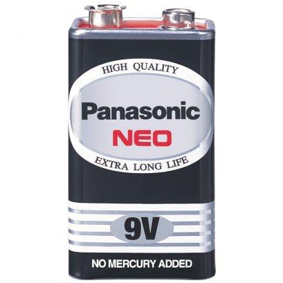 แบตเตอรี่ Panasonic 9V NEO สีดำ 1 ก้อน
