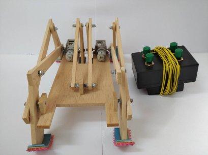 ชุดคิตหุ่นยนต์ลำเลียงวัตถุ พร้อมรีโมต 2-CH