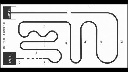 ไวนิลปูพื้นสนามแข่งขันหุ่นยนต์เดินตามเส้น 1