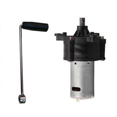 ชุดกำเนิดไฟฟ้ามือหมุน ( Generator Miniature Hand Crank)