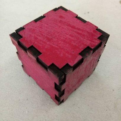กล่องลูกบาศก์ ขนาด 3x3x3 cm จำนวน 1 ชิ้น