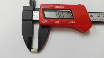 เสารองโลหะแบบหกเหลี่ยม ขนาด 8 มม.