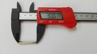 เสารองโลหะแบบหกเหลี่ยม ขนาด 30 มม.
