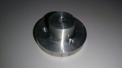 ข้อต่อล้อ TAMIYA .ใช้กับแกนมอเตอร์ 4 mm (1 ชิ้น)