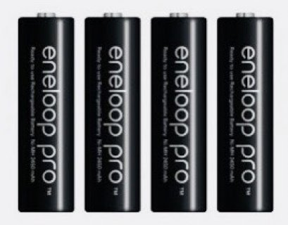Rechargeable Battery Eneloop Pro 2550mA แพ็ค 4 ก้อน