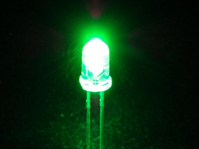 LED 5mm. Green (Super Bright)