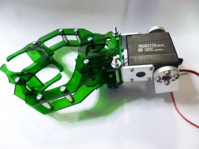 ชุดหนีบจับและยกวัตถุ สำหรับหุ่นบังคับมือด้วยรีโมท (ประกอบสำเร็จ)