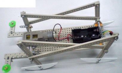 ชุดคิตหุ่นม้าวิ่งเร็ว 2 ใช้อุปกรณ์ของ Tamiya