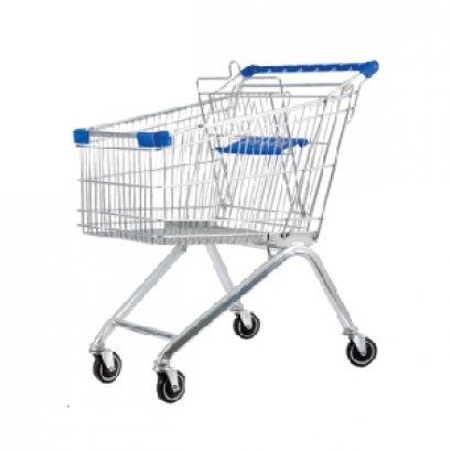 Xe đẩy siêu thị kiểu chữ A 60 lít - Happy Move