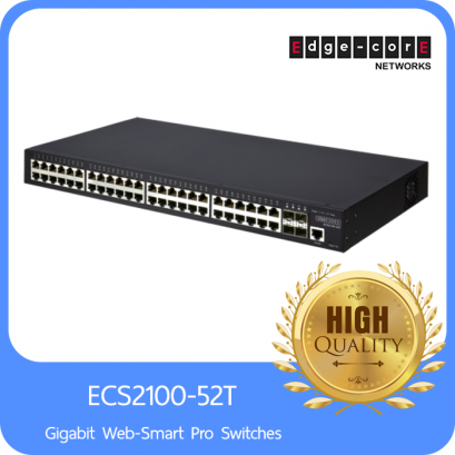 48 Ports 10/100/1000Base-T + 4G SFP Gigabit Web-Smart Pro Switches