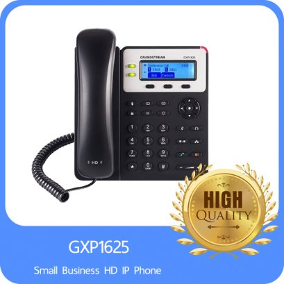 Grandstream Networks SIP Enterprise Small Business 2 Line IP Phone Dual 10100 Mbps, 132x48 Blacklit LCD Display HD Audio Quality, PoE