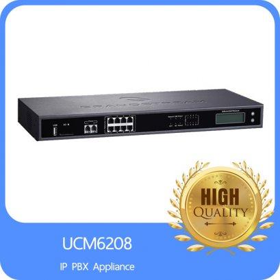 IP-PBX Grandstream 8FXO, 2 FXS, 2 Gigabit Ports,800 Users,100Concurrent calls,6Conference Bridges, 32 Attendees P/Bridge