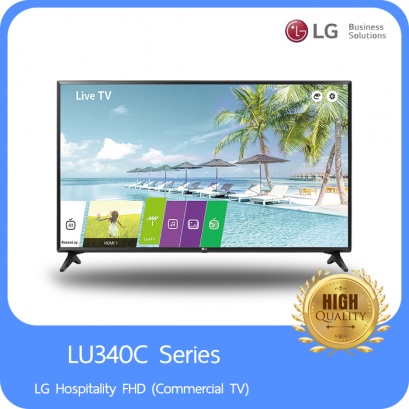 LG Hospitality FHD (Commercial TV) LU340C Series