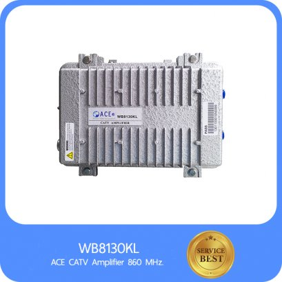 ACE CATV Amplifier 860 MHz