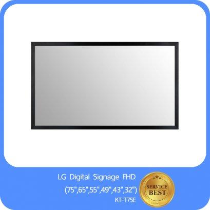 "LG Digital Signage FHD (75"",65"",55"",49"",43"",32"")  KT-T75E"