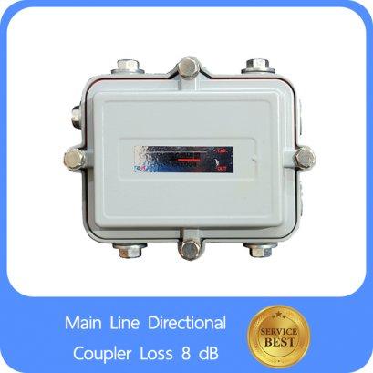 Main Line Directional Coupler Loss 8 dB