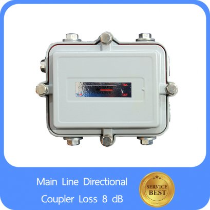 Main Line Directional Coupler Loss 8 dB