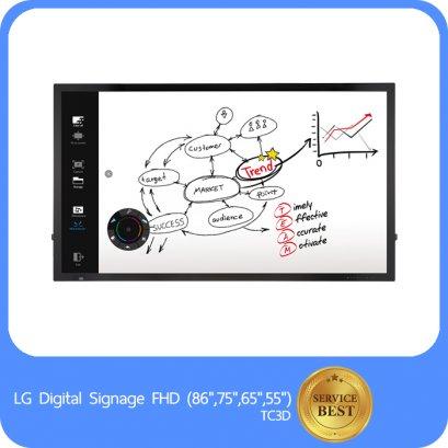 """LG Digital Signage FHD (86"""",75"""",65"""",55"""") TC3D"""