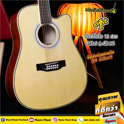 At First: AG12S, 12 Strings, Acoustic Guitar