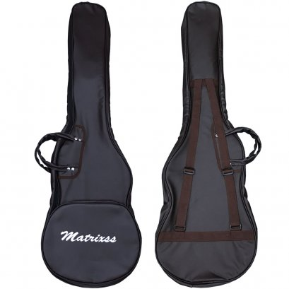 Matrixss กระเป๋าหนังสำหรับเบสไฟฟ้า บุฟองน้ำ 10 mm Electric Bass Bag