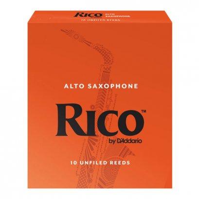 Rico ลิ้น Alto Saxophone Reeds 1 กล่อง (10 ลิ้น)