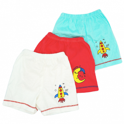 3-Pack Baby cotton half Pants