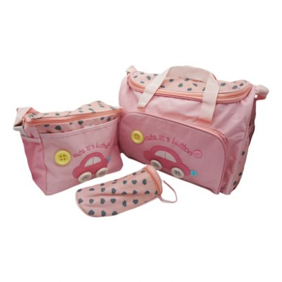 Diaper bag with accessories