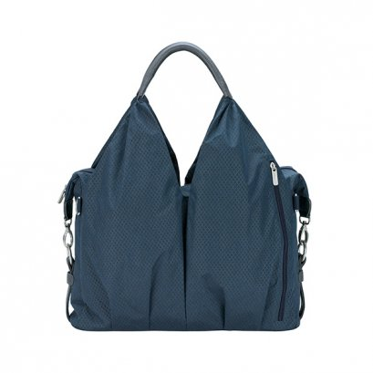 Lassig Green Label Neckline Spin Dye Diaper Bag - Blue mélange